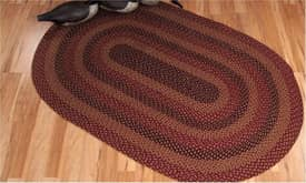 IHF Jute Saltbox House Braided Rug