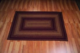 IHF Jute Vintage Star Braided Rug