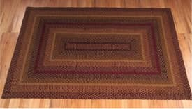 IHF Jute Timber Trail Braided Rug