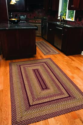 IHF Jute Checkerberry Braided Rug