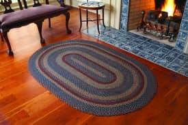 IHF Jute Blue Ridge Braided Rug