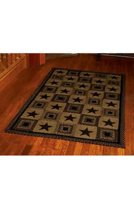 IHF Jute Country Star Rug