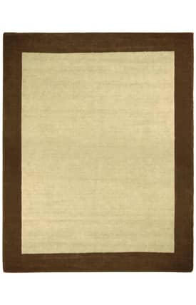 St. Croix Trading Earth First Jute Wool Border Rug