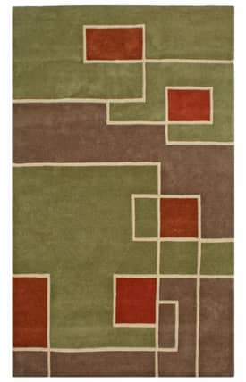 St. Croix Trading None Labyrinth Rug