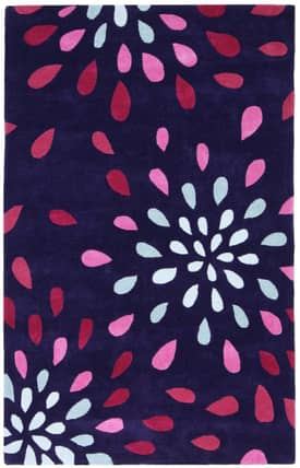 St. Croix Trading None Purple Rain Rug