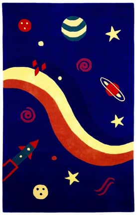 St. Croix Trading Playful Space Explorer KT01 Rug