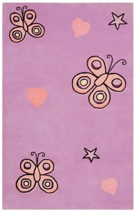 St. Croix Trading Playful Butterfly Kisses KT05 Rug
