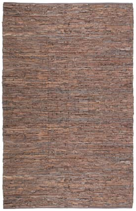 St. Croix Trading Matador Leather Woven Reversible Rug LCD01 Rug
