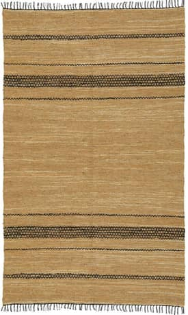 St. Croix Trading Matador Leather Woven Reversible Rug LCD09 Rug