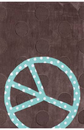 G.A. Gertmenian & Sons Kidspace Peace Dot Rug