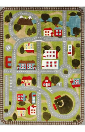 G.A. Gertmenian & Sons Kidspace Our Town 3D Rug