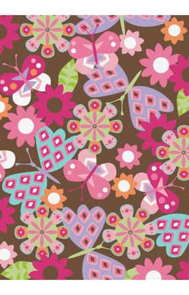 G.A. Gertmenian & Sons Kidspace Butterfly Safari Rug