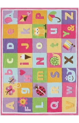G.A. Gertmenian & Sons Kidspace Alphabet Icons Rug