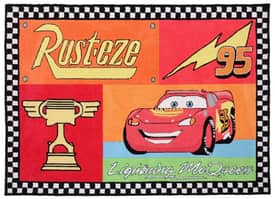 G.A. Gertmenian & Sons Disney Cars Lightning Rusteze Rug