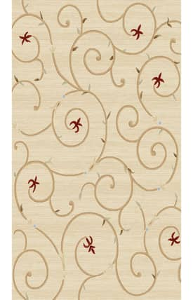 World Rug Gallery Elite Scroll Rug