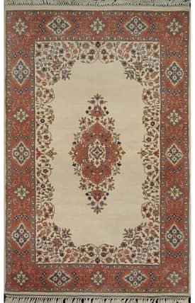 E Carpet Gallery Persian Hand Knotted Kashan 690870 Rug