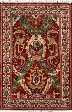 E Carpet Gallery Persian Hand Knotted Jaipur 691226 Rug