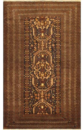 E Carpet Gallery Persian Hand Knotted Kazak 695707 Rug