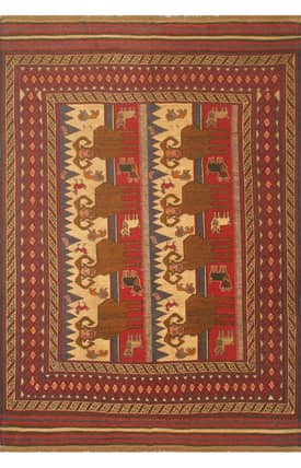 E Carpet Gallery Persian Hand Knotted Kazak 698838 Rug