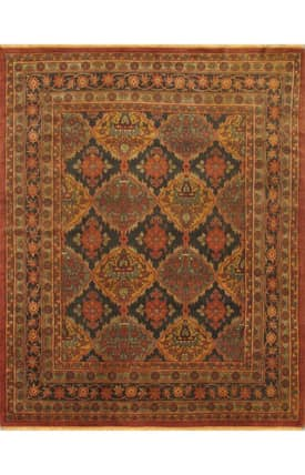E Carpet Gallery Persian Hand Knotted Ushak 700606 Rug