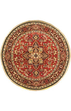 E Carpet Gallery Persian Hand Knotted Heriz 702212 Rug