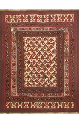 E Carpet Gallery Persian Hand Knotted Nomadic 707031 Rug