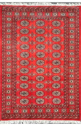E Carpet Gallery Persian Hand Knotted Bokhara 710453 Rug