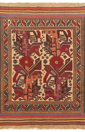 E Carpet Gallery Persian Hand Knotted Nomadic 710644 Rug