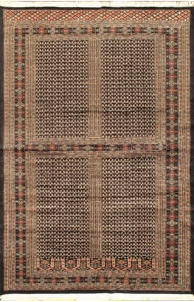 E Carpet Gallery Persian Hand Knotted Bokhara 714700 Rug