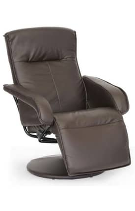 Wholesale Interiors Chairs Buchanan Modern Recliner with Footrest Furniture