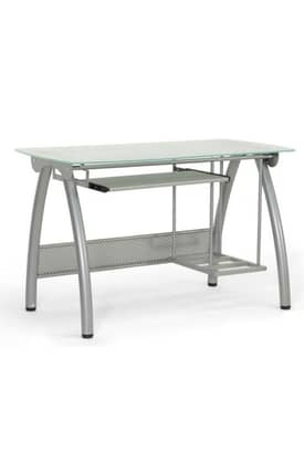Wholesale Interiors Desks Tamm Modern Computer Desk with CPU Stand Furniture