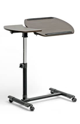 Wholesale Interiors Desks Olsen Wheeled Laptop Tray Table with Tilt Control Furniture
