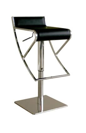 Wholesale Interiors Bar Stools Adjustable Leather Bar Stool Furniture