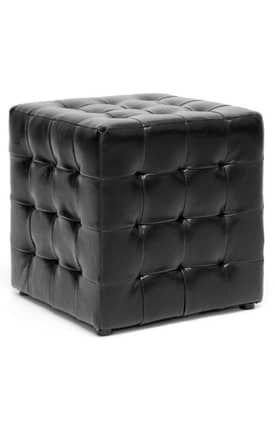 Wholesale Interiors Ottomans Siskal Modern Cube Ottoman (Sets of 2) Furniture