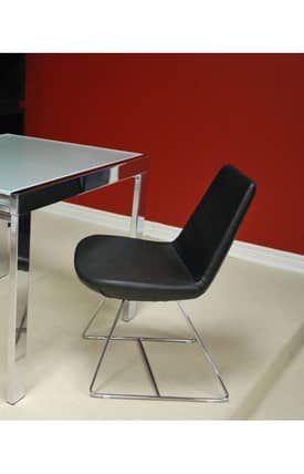 Soho Concept Chairs Eifel Wire Leatherette Chair Furniture