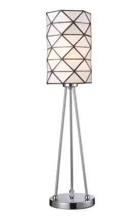 Dimond Lighting Tetra Tetra Accent Lamp in Polished Chrome Finish Lighting