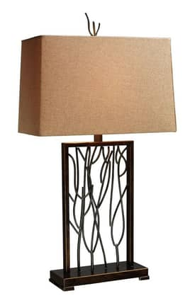 Dimond Lighting Belvior Park Belvior Park Table Lamp in Aria Bronze Finish Lighting