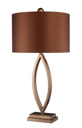 Dimond Lighting Dale Dale Table Lamp in Coffee Plating Finish Lighting