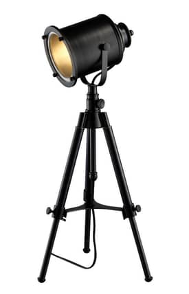 Dimond Lighting Ethan Ethan Adjustable Tripod Table Lamp in Restoration Black Finish Lighting