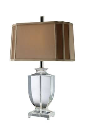 Dimond Lighting Layfette Layfette Table Lamp in Clear Crystal Finish Lighting