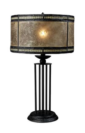 Dimond Lighting Mica Filagree Mica Filigree Table Lamp in Tiffany Bronze Finish Lighting