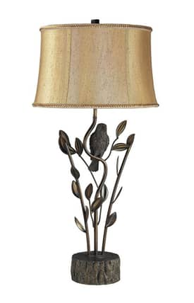 Dimond Lighting Biltmore Winter Garden D2032 Table Lamp In Aria Bronze Finish Lighting