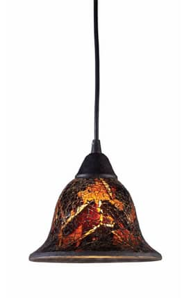 Elk Lighting Firestorm Firestorm 10144/1FS Pendant in Dark Rust Finish Lighting