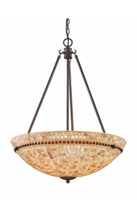 Elk Lighting Roxana Roxana 15014/4 Pendant in Polished Chrome Finish Lighting