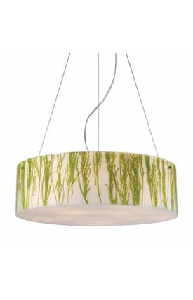 Elk Lighting Modern Organics Modern Organics 19043/5 Pendant in Polished Chrome Finish Lighting