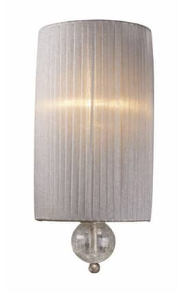 Elk Lighting Alexis Alexis 20005/1 Wall Sconce in Antique Silver Finish Lighting