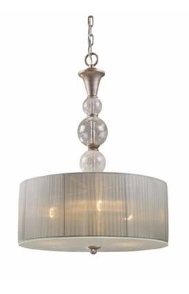 Elk Lighting Alexis Alexis 20007/3 Pendant in Antique Silver Finish Lighting