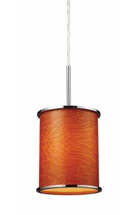 Elk Lighting Fabrique Fabrique 20052/1 Pendant in Polished Chrome Finish Lighting