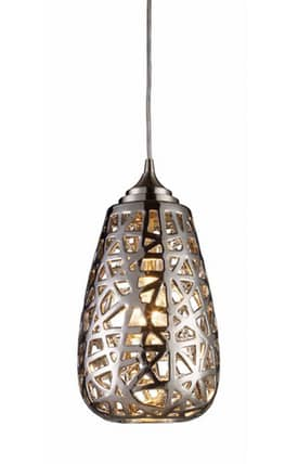 Elk Lighting Nestor Nestor 20064/1 Pendant in Chrome Finish Lighting
