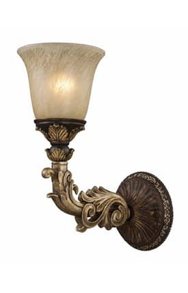 Elk Lighting Regency Regency 2154/1 Wall Sconce in Burnt Bronze Finish Lighting